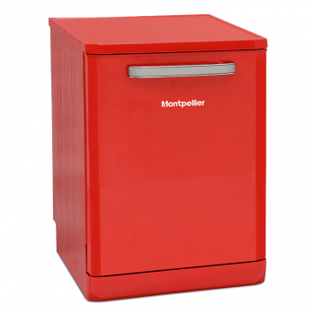 Montpellier MAB600R Retro Full Size Dishwasher