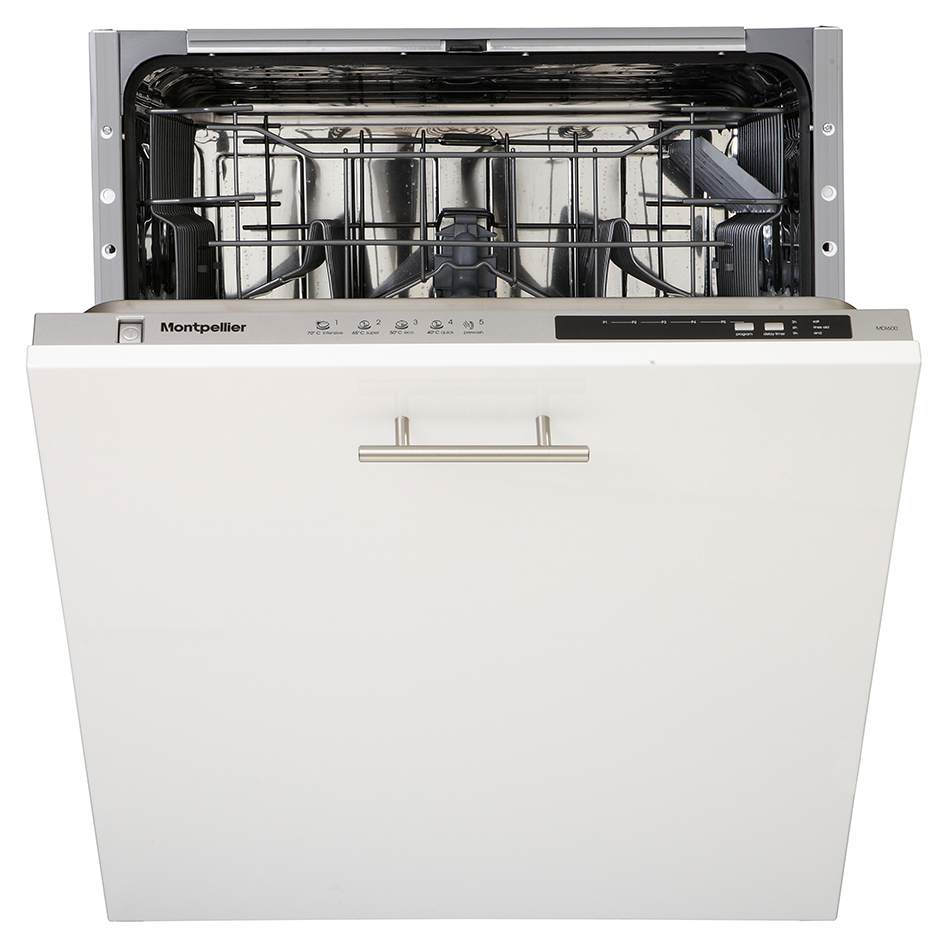 Montpellier MDI600 Integrated Full Size Dishwasher