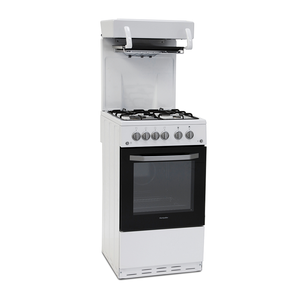 Montpellier MEL50W 50cm Gas Eye Level Cooker