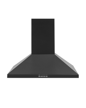 Montpellier MH600BK 60cm Chimney Hood in Black A Energy