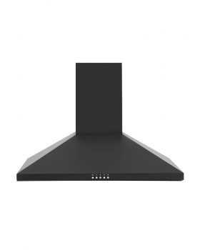 Montpellier MH700BK 70cm Chimney Hood in Black A Energy