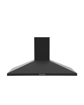 Montpellier MH900BK 90cm Chimney Hood in Black A Energy