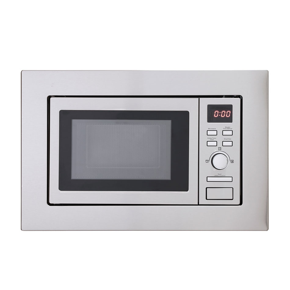 Montpellier MWBI17-300 Built-In Slim Depth Solo Microwave