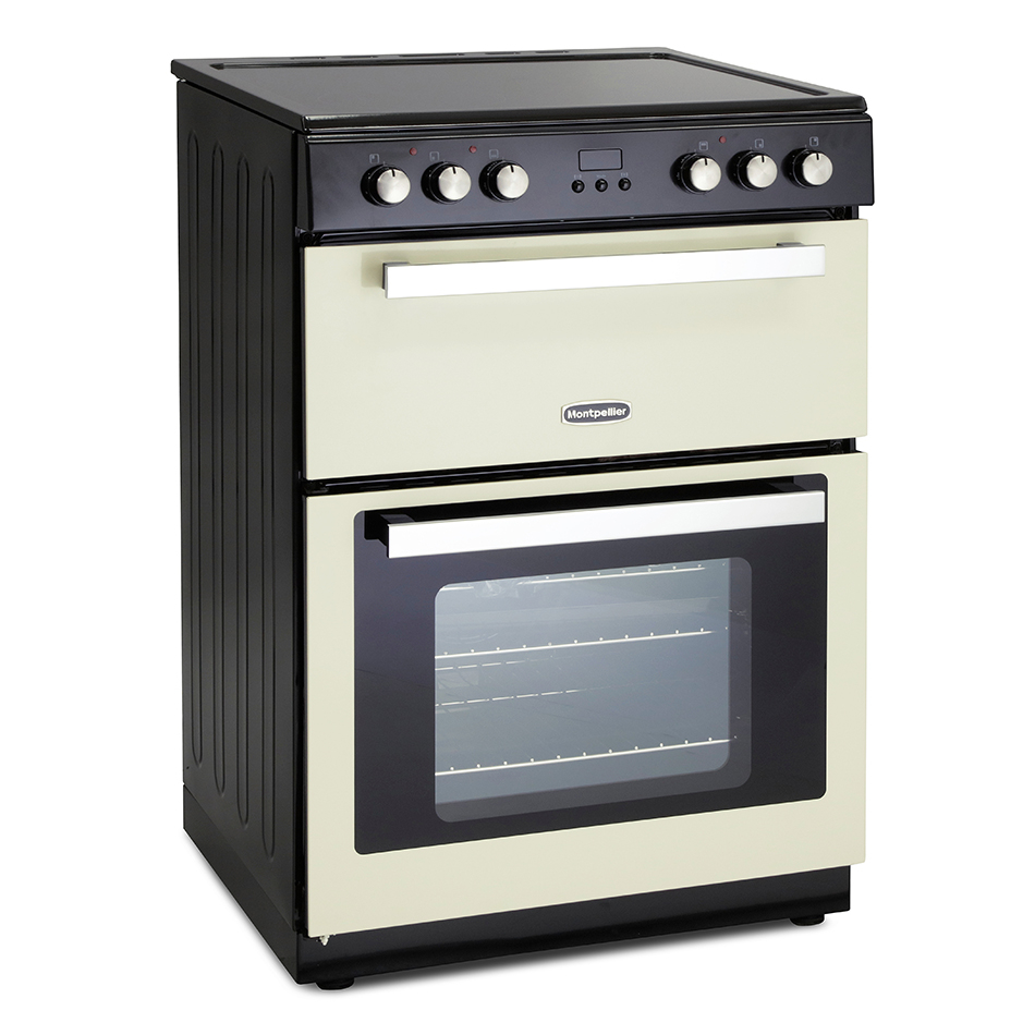 Montpellier RMC61CC Ceramic  Mini Range Cooker