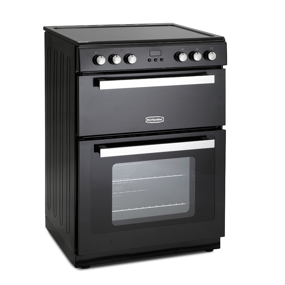 Montpellier RMC61CK Ceramic Mini Range Cooker