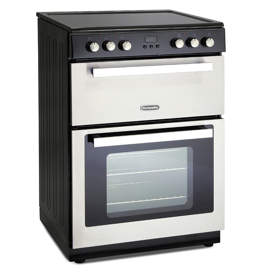 Montpellier RMC61CX Ceramic Mini Range Cooker