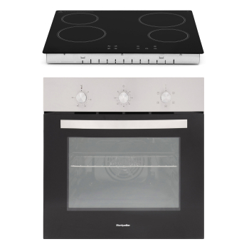 SFCP11 59Ltr Electric Oven & Ceramic Hob Pack in a Colour Box