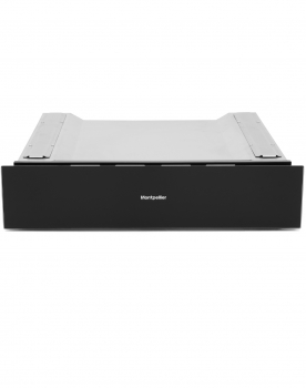 WD140BG 14cm Integrated Warming Drawer in Black Glass Finish 50-80°c