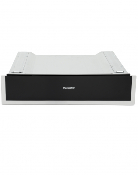 WD140ST 14cm Integrated Warming Drawer with S/S Trim in Black Glass