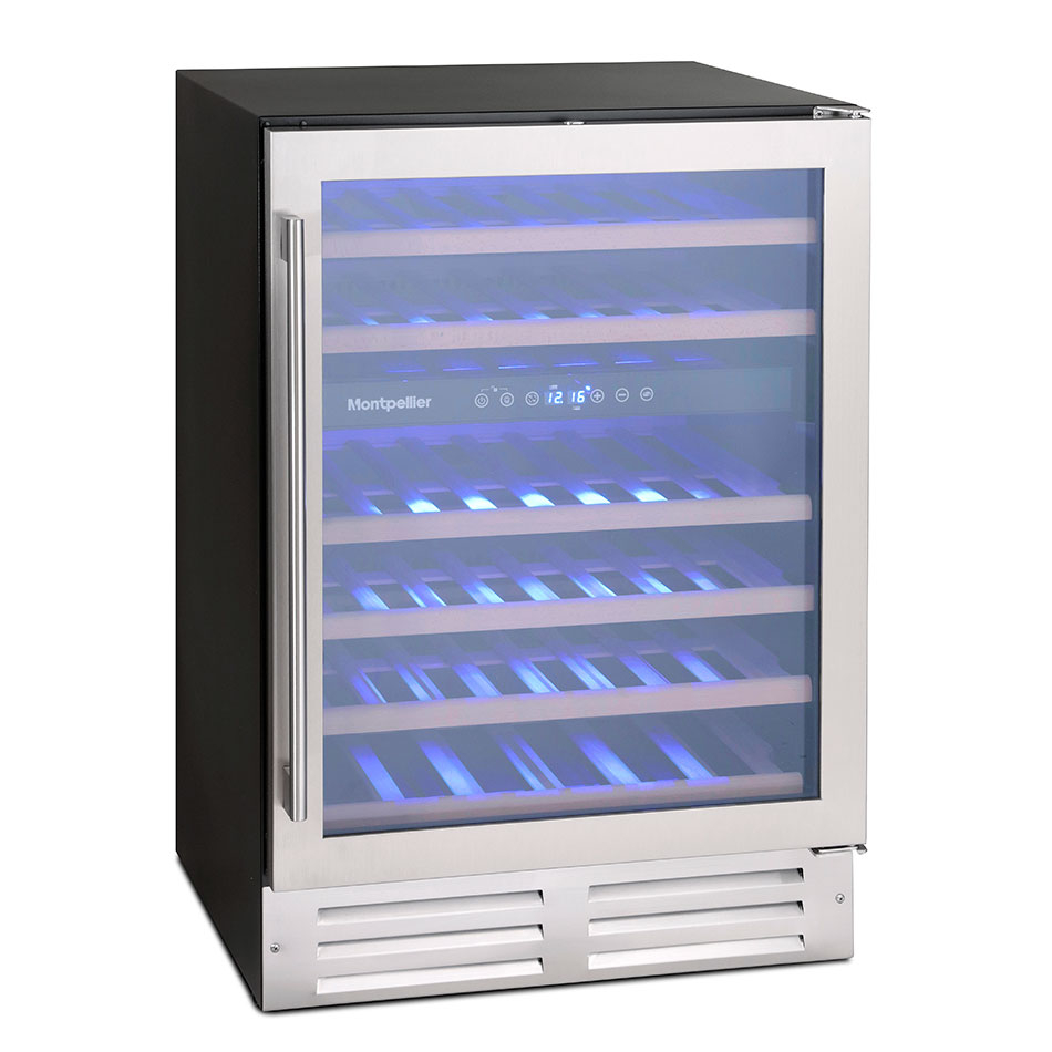 Montpellier WS46SDX 46 Bottle Wine Cooler